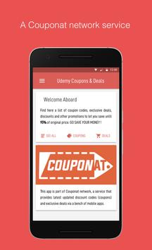 Couponat - Udemy coupons, promo codes and deals for Android - APK