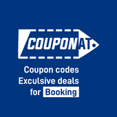 Coupons for Booking, deals promo codes by Couponat icon