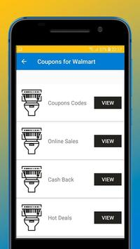 Coupons for Walmart poster