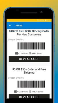 Coupons for Walmart screenshot 1