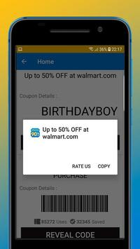 Coupons for Walmart screenshot 2