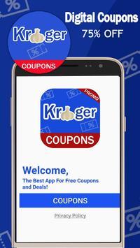 Digital Coupons for Kroger - Smart Coupons🔥 screenshot 1