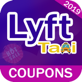 Mini Coupons For Lyft2 Taxi - Promo Codes 2019 icon