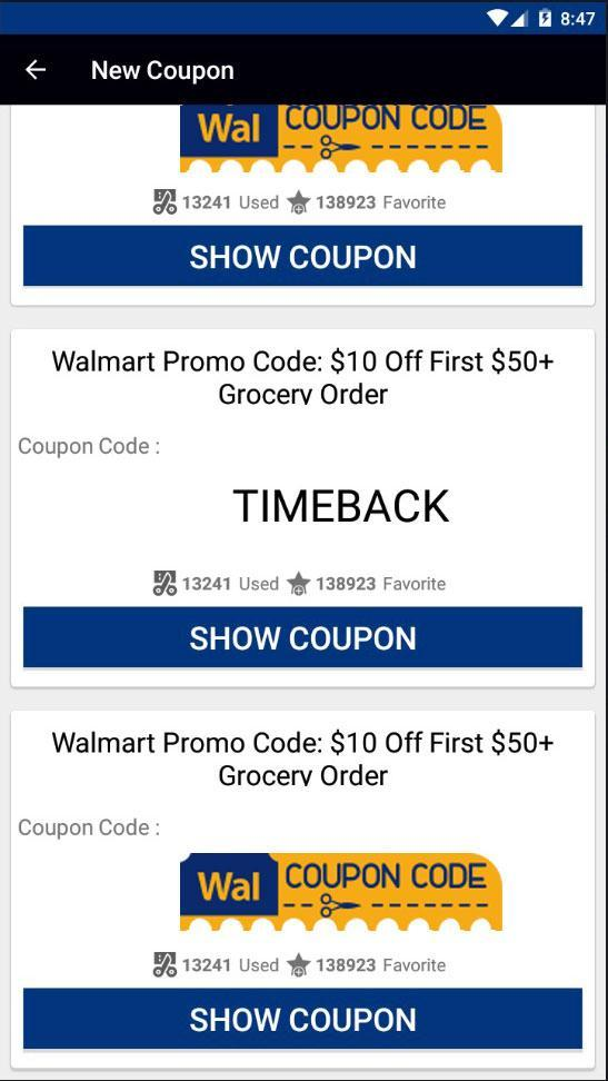 Walmart Coupons for Android - APK Download