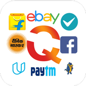 All In One Shopping - Quiker App icon