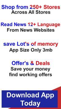 All In One Shopping - Quiker App screenshot 1