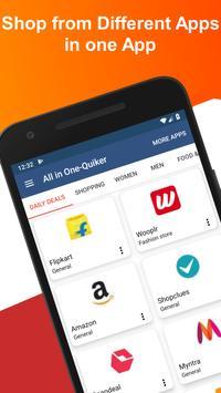 All In One Shopping - Quiker App screenshot 2