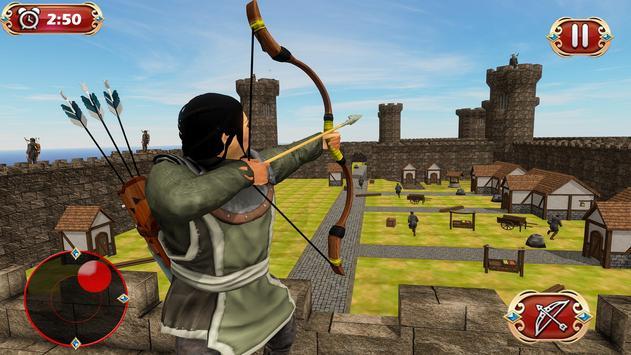 Busur panah perang benteng pertahanan screenshot 12