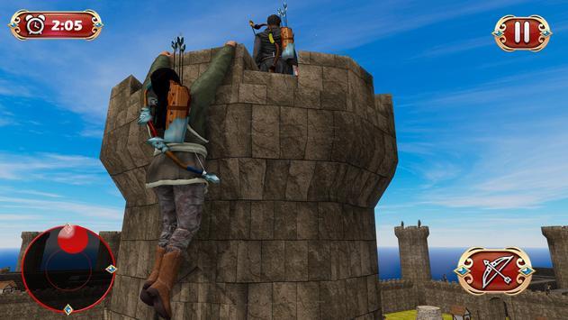 Busur panah perang benteng pertahanan screenshot 14