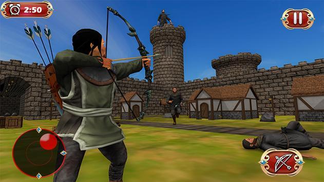 Busur panah perang benteng pertahanan screenshot 1