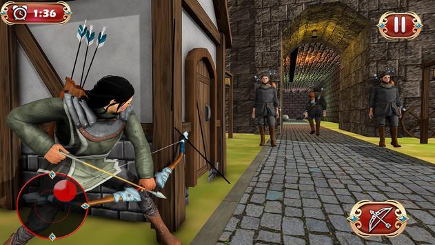 Busur panah perang benteng pertahanan screenshot 2