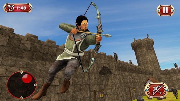 Busur panah perang benteng pertahanan screenshot 7