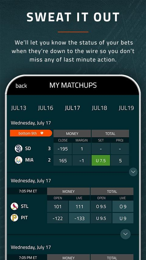 Covers sports betting app how to trade binary options on nadex scam