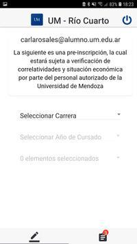 UM Río Cuarto screenshot 3