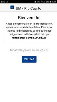 UM Río Cuarto poster