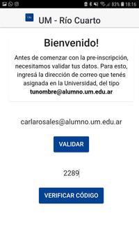 UM Río Cuarto screenshot 1