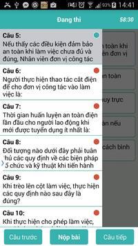 Trắc Nghiệm An Toàn Điện screenshot 4