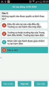 Trắc Nghiệm An Toàn Điện screenshot 5