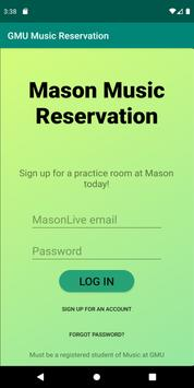 Mason Music Reservation poster