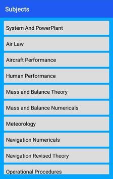 Civil Aviation Exam - EASA & FAA & CAA-poster