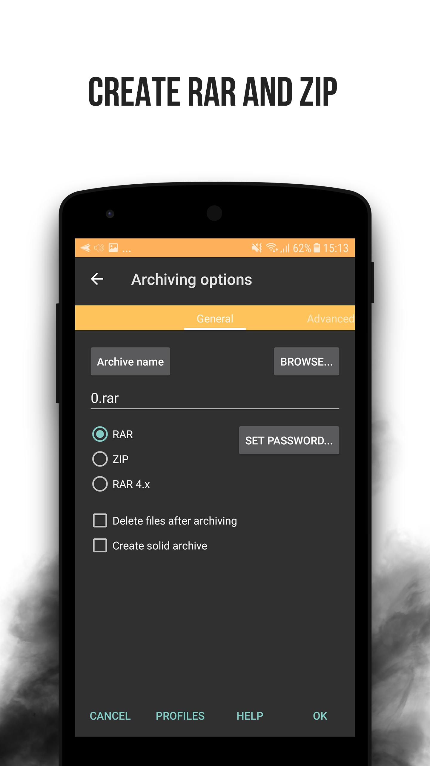 Rar File Extractor And Zip Opener File Compressor For Android