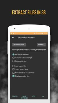 RAR File Extractor And ZIP Opener, File Compressor screenshot 9