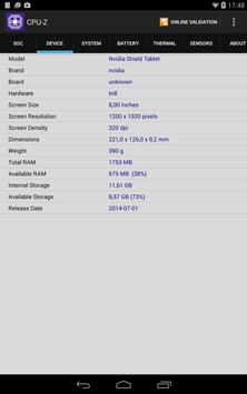 CPU-Z ảnh chụp màn hình 12