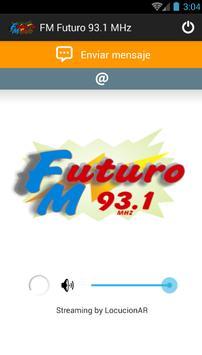 FM Futuro 93.1 MHz poster
