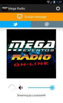 Mega Radio screenshot 1