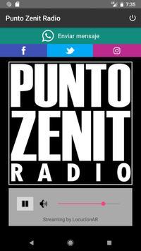 Punto Zenit Radio poster