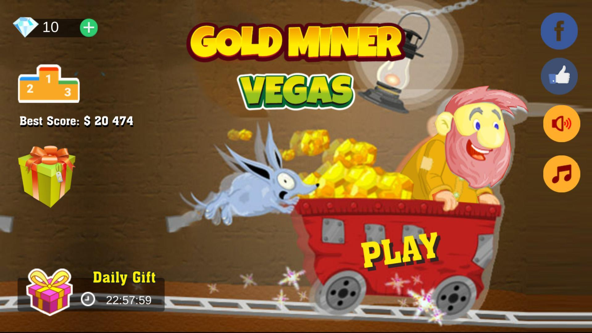 Gold miner vegas for android apk download.
