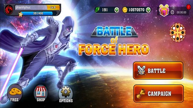 Battle of Force Hero स्क्रीनशॉट 8
