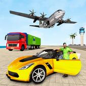 Crime Driving Car Transporter – Free plane games icon
