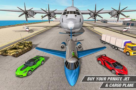Crime Driving Car Transporter – Free plane games screenshot 3