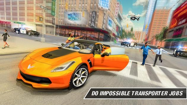 Crime Driving Car Transporter – Free plane games screenshot 6