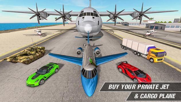 Crime Driving Car Transporter – Free plane games screenshot 9