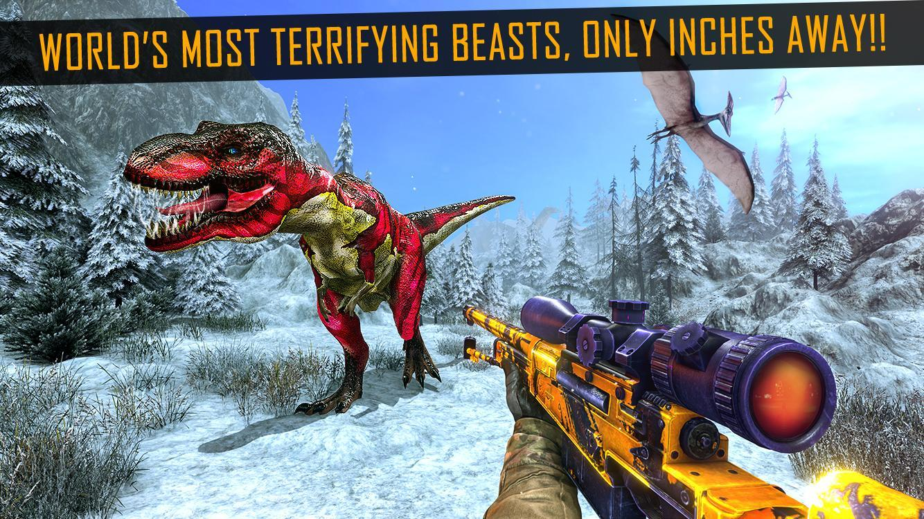 new concept get cheap pre order Dinosaur Hunting 2019 - Dinosaur Shooting Games for Android ...