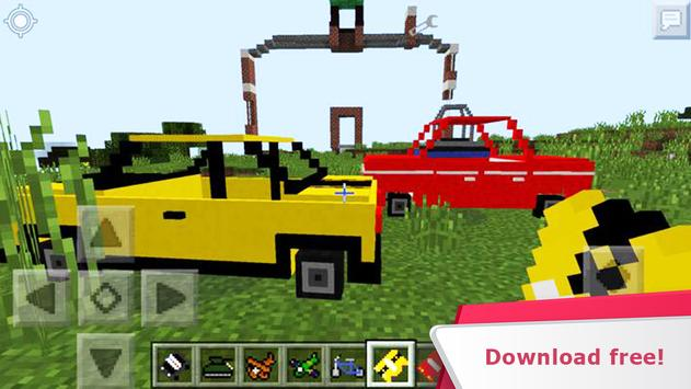 Cars and not only. Mod for MCPE screenshot 11