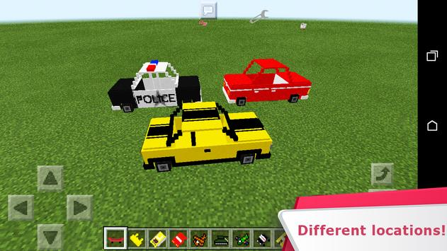 Cars and not only. Mod for MCPE screenshot 1