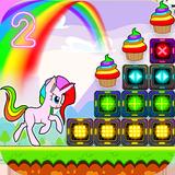 Unicorn Dash Attack 2: Neon Lights Unicorn Games