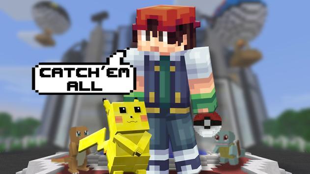 Pixelmon Mod for Minecraft PE captura de pantalla 1