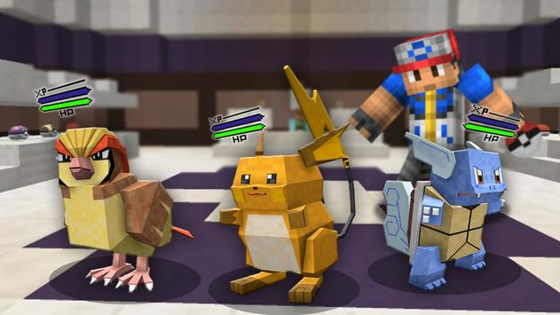 Pixelmon Mod for Minecraft PE captura de pantalla 2