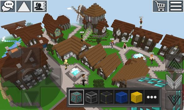 WorldCraft: Mini World Block Craft Poster