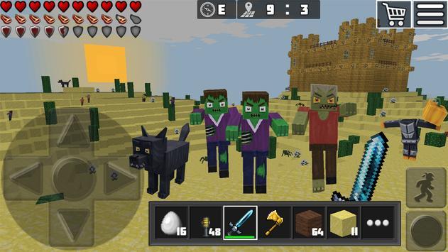 WorldCraft: Mini World Block Craft captura de pantalla 11