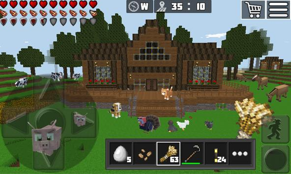 WorldCraft: Mini World Block Craft captura de pantalla 1