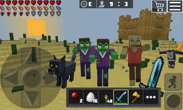 WorldCraft: Mini World Block Craft captura de pantalla 3