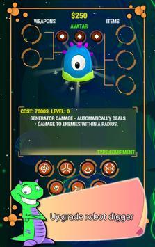 Digger Battle for Mars & Gems screenshot 2