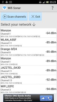 Wifi Sonar screenshot 1