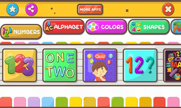 Learn Numbers 1 to 100, Alphabet, Tracing & games 截圖 3