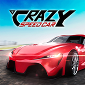 Crazy Speed Car أيقونة